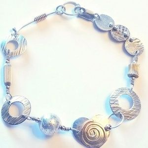 Steam Punk 925 Sterling Silver Bracelet